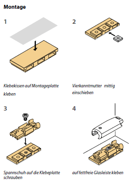 klebetechnik f r plissees stick fix plissee. Black Bedroom Furniture Sets. Home Design Ideas