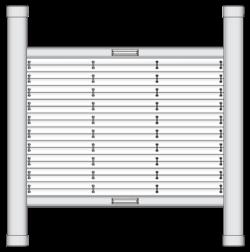 Dachfenster Plisseeanlage DF 20