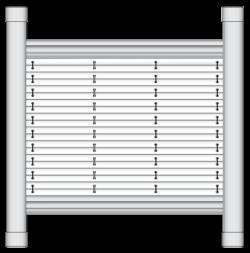 Dachfenster Plisseeanlage DF 20 Comfort