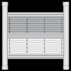 Dachfenster Plisseeanlage DF 30 Comfort