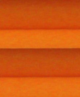 Abdunkelndes oranges Plissee