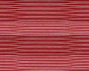 Leuchtendes rotes Plissee mit Zellenstruktur
